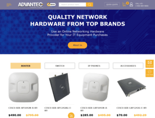 advanteco.com screenshot
