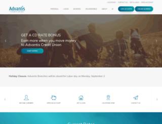 advantiscuonline.org screenshot