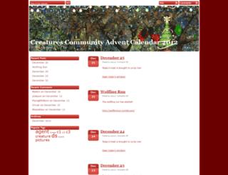 advent2012.ylukyun.com screenshot