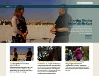 adventistmission.org screenshot