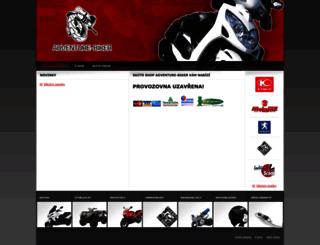adventure-biker.cz screenshot
