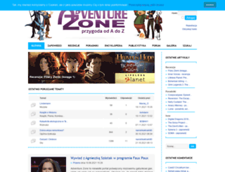 adventure-zone.home.pl screenshot