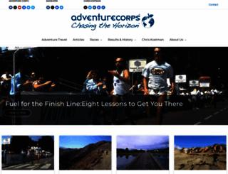 adventurecorps.com screenshot