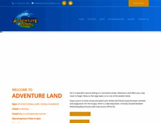 adventurelandplett.co.za screenshot
