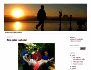 adventuresinbabywearing.com screenshot