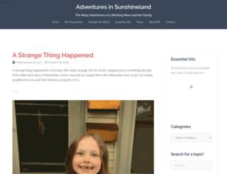 adventuresinsunshineland.com screenshot