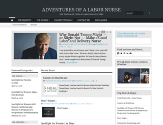adventuresofalabornurse.wordpress.com screenshot