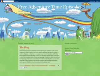 adventuretimeforfree.blogspot.com screenshot