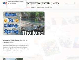 adventuretoursthailand.com screenshot