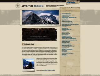 adventuretrekking.com screenshot