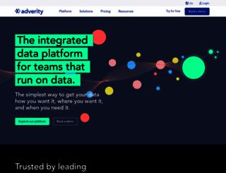 adverity.com screenshot