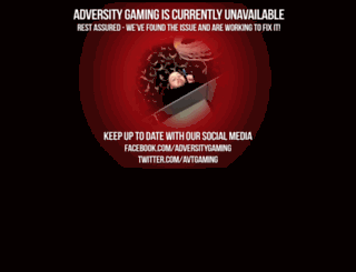 adversitygaming.com screenshot