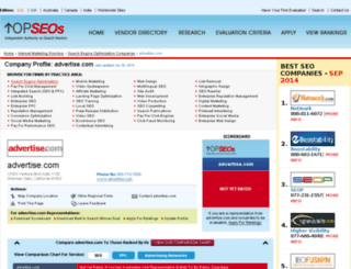 advertisecom-inc.topseos.com screenshot