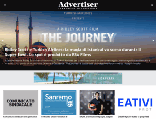 advertiser.it screenshot