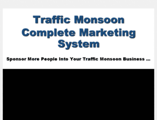 advertisetrafficmonsoon.com screenshot