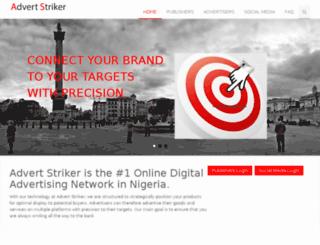 advertstriker.com screenshot