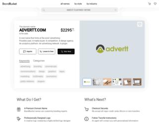 advertt.com screenshot