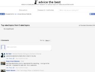 advicethebest.com screenshot