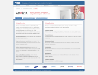 advizia.com screenshot