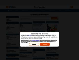 advocaten-arbeidsrecht.startpagina.nl screenshot