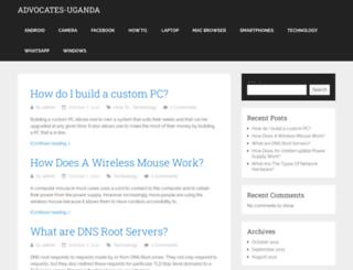 advocates-uganda.com screenshot