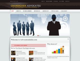 advocatesinindia.com screenshot