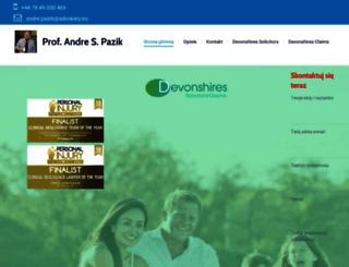 adwokaty.com screenshot
