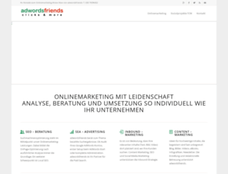 adwords-friends.de screenshot