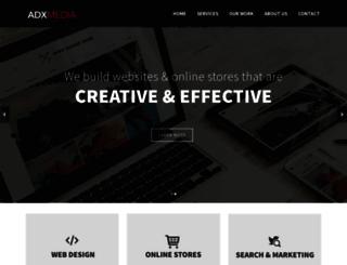 adxmedia.com screenshot