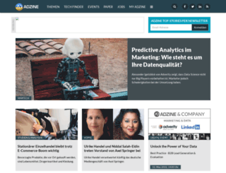 adzine.de screenshot
