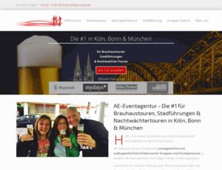 ae-event.de screenshot