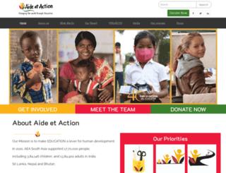 aea-southasia.org screenshot