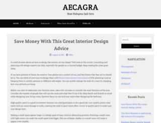 aecagra.org screenshot