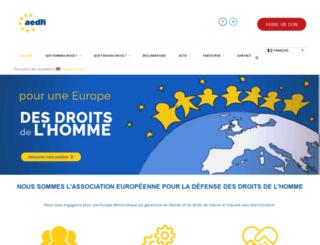 aedh.eu screenshot