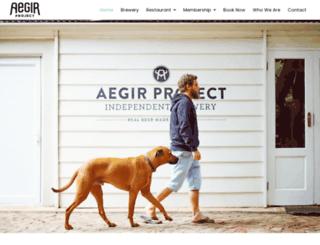 aegirprojectbrewery.com screenshot