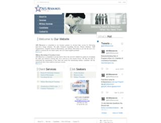 aegresources.com screenshot