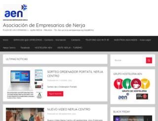 aenerja.org screenshot
