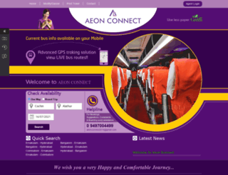 aeonconnect.com screenshot
