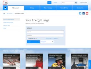 aepo.opower.com screenshot