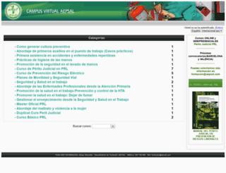 aepsalcampus.com screenshot