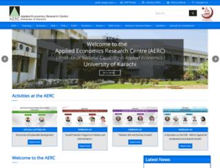 aerc.edu.pk screenshot
