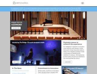 aercoustics.com screenshot