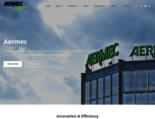 aermec.us screenshot