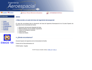 aero.us.es screenshot