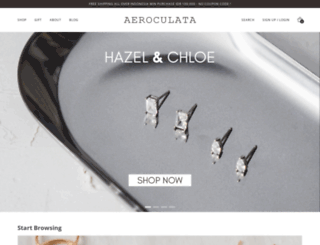 aeroculata.com screenshot