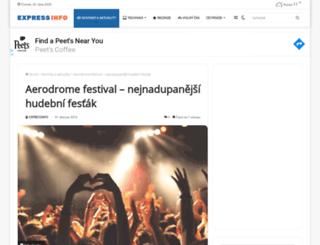 aerodrome-festival.cz screenshot