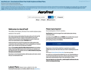 aerofred.com screenshot
