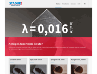 aerogel24.de screenshot