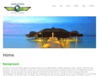 aerolinkstravels.com screenshot