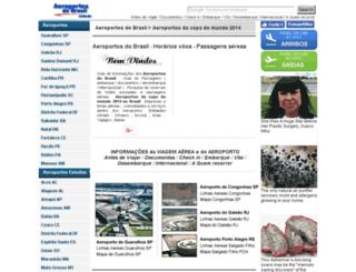 aeroportosdobrasil.com.br screenshot